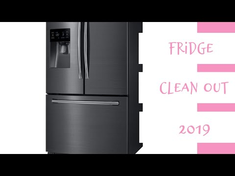 Clean With Me: Fridge Edition!! | Samsung Fridge | Miss Stina Marie