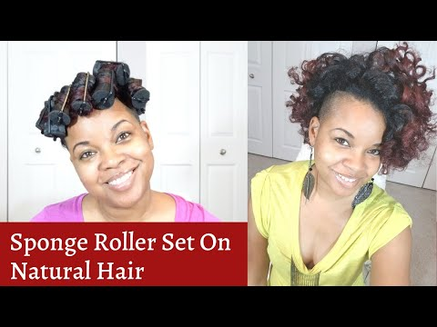my-1st-sponge-roller-set-in-years!!!-|-natural-hair