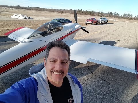My flight in a Van's RV-4