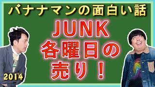 【ラジフェス2014 ヤングJUNK大集合】バナナマンの面白い話