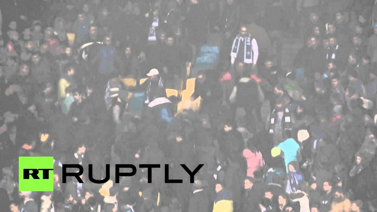 Фанаты «Динамо» (Киев) избили 4 темнокожих болельщиков клуба