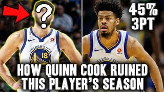 How Quinn Cook's Surprising Success Ruined This NBA Player's Season