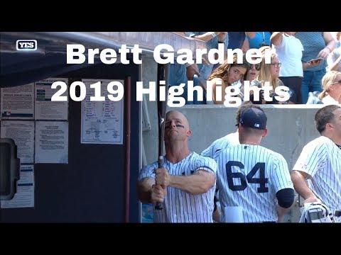 Brett Gardner 2019 Highlights