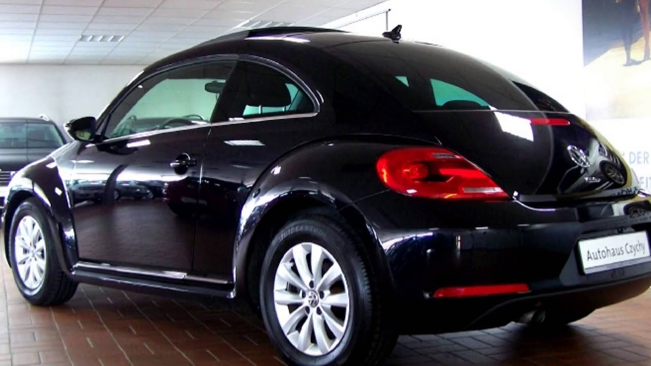 volkswagen beetle 1 2 tsi design dm623368 deep black perleffekt autohaus czychy youtube. Black Bedroom Furniture Sets. Home Design Ideas