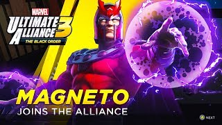 Marvel Ultimate Alliance 3: The Black Order - Unlocking Magneto (How to Unlock Magneto in MUA3)