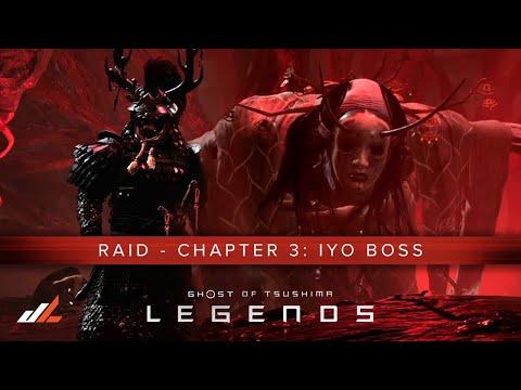 Ghost Of Tsushima LEGENDS: Raid Chapter 3 Guide - Iyo BOSS