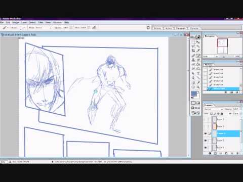 Creating a manga page 1 youtube pronofoot35fo Gallery