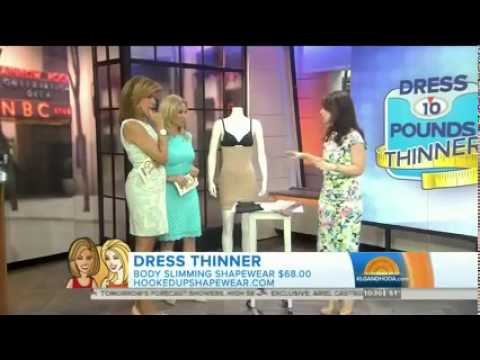 HookedUp Shapewear on Today Show.  http://bit.ly/2ktFpIO