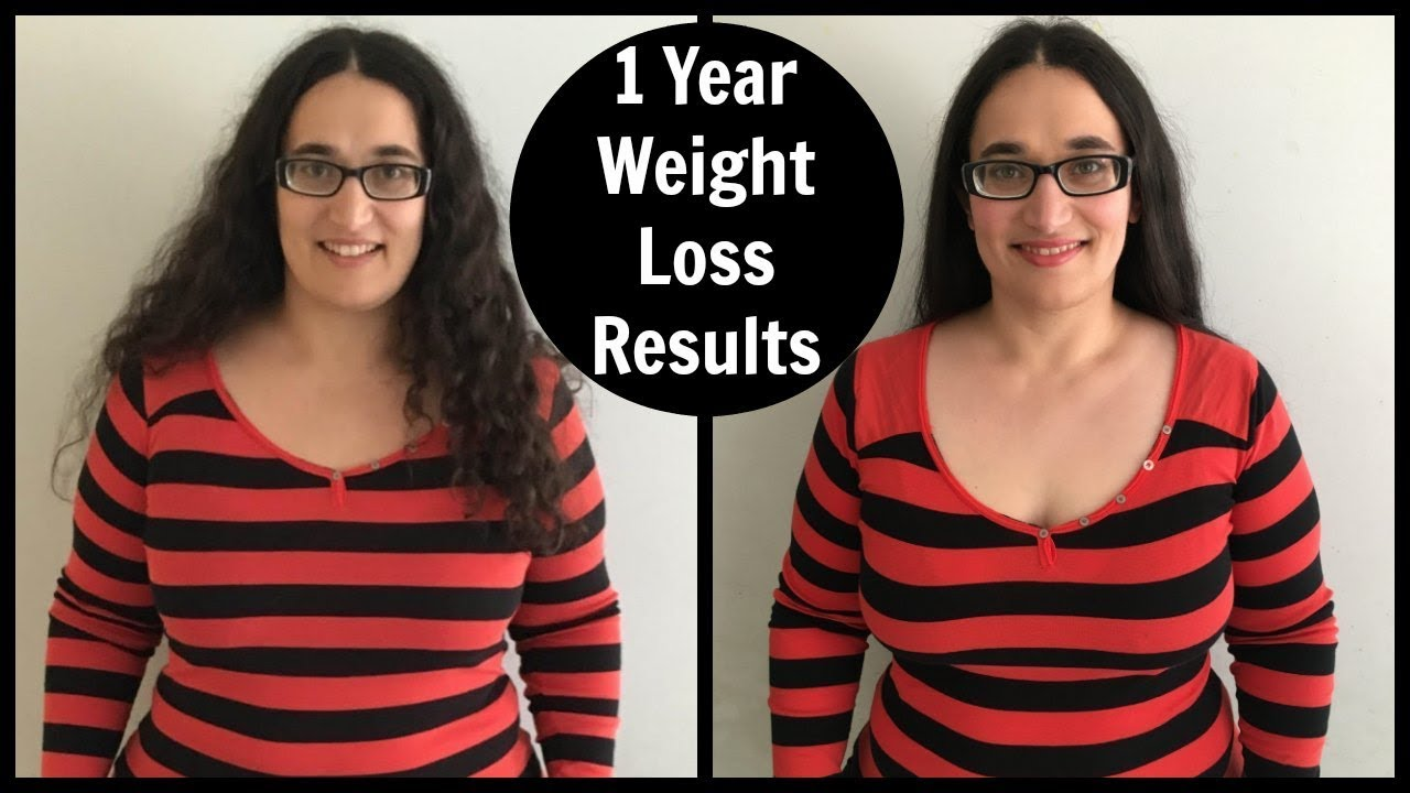 1 Year Weight Loss Results - YouTube