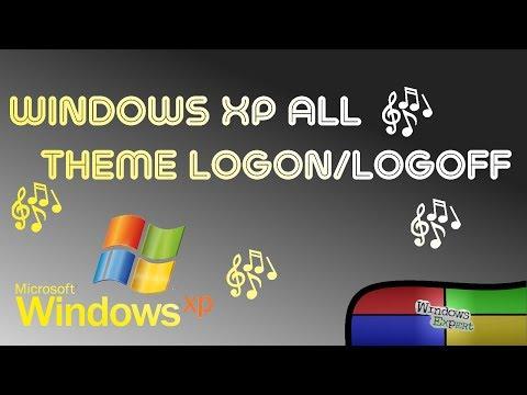 MICROSOFT WINDOWS XP ALL THEMES LOGON AND LOGOFF SOUNDS