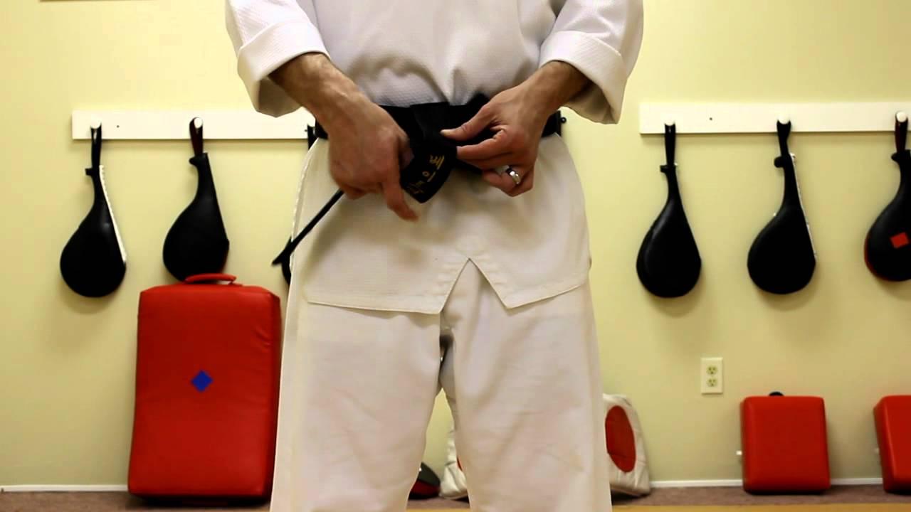 Bateman Taekwondo: How To Tie A Taekwondo Belt
