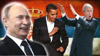 Najsmešniji momenti svetskih predsednika! Putin,Obama,Merkelova,Medvedev,Buš,Berluskoni...