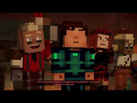 Minecraft: Story Mode - Season 2 | Episode 4 - Below The Bedrock (Romeo's Challenge Room) [Part 3]