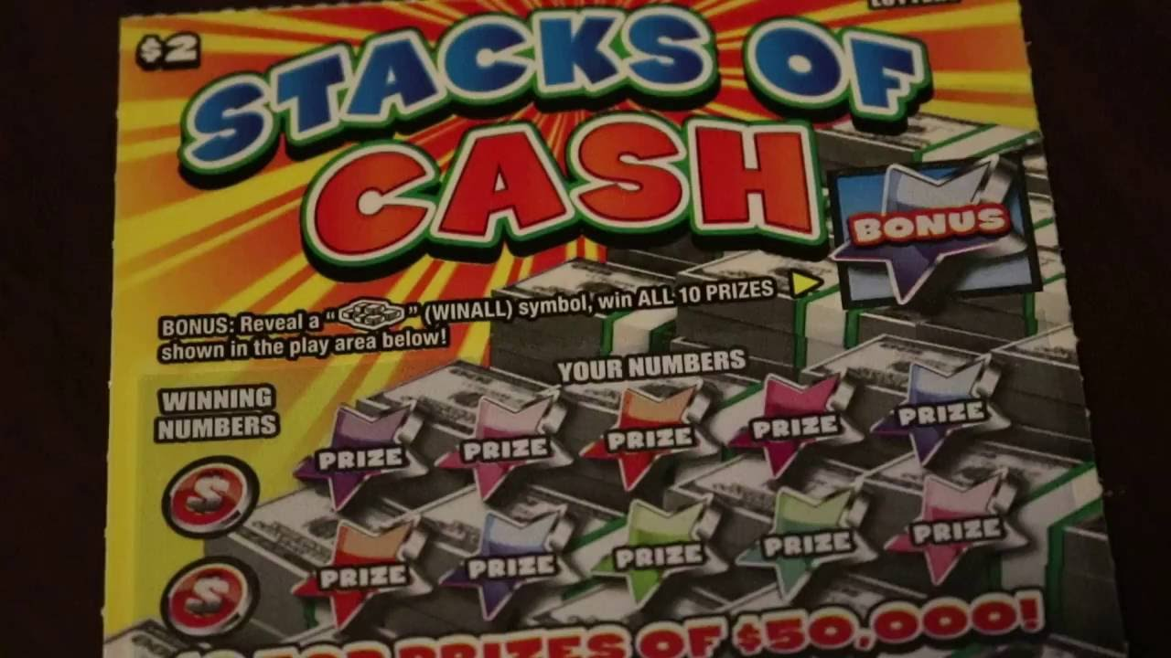 PA Lottery Stacks Of Cash - YouTube