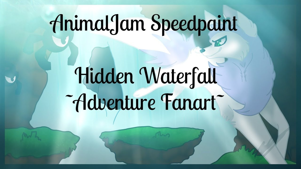 Download Fuzywuzy Draws - Animal Jam Speedpaint - Hidden Falls (Adventure)
