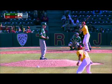 Baseball: USC 8, Utah Valley 6 - Highlights 2/18/18
