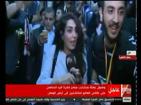 الآن | لقاءات حصرية مع لاعبي منتخب مصر لكرة اليد عقب تتويجهم بكأس العالم  للناشئين
