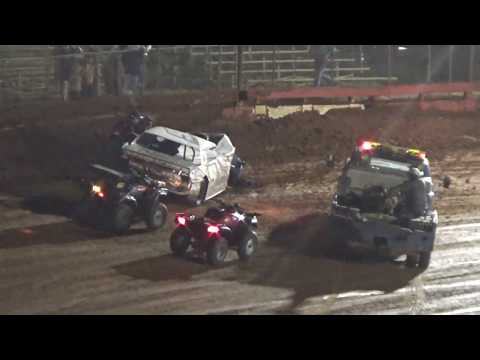 Rebel Yell Pure Street V8 Feature  Race  09/08/18   Bad wreck
