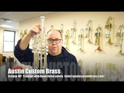 Eclipse  M.Y. Trumpet for sale at Austin Custom Brass