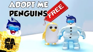 How to Get a FREE Golden Penguin in Adopt Me - ROBLOX Adopt Me Pets