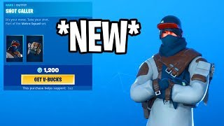 *NEW* AUGUST 19 SHOP..!! SHOT CALLER SKIN..!! SLICK EMOTE! - Fortnite Daily Item Shop Update