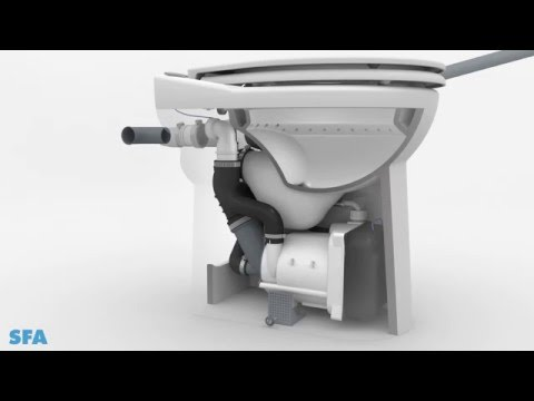 Sanicompact 43 Sfa Installation Et Fonctionnement Youtube