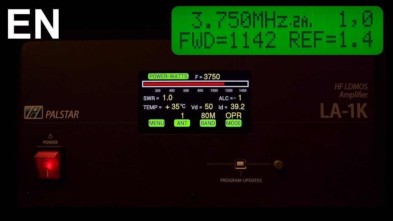 Palstar LA-1K Review – 1 kW Solid-State LDMOS HF amplifier (6 to 160M)