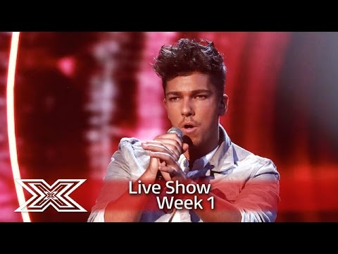 Matt Terry belts out Grace's You Don't Own Me | Live Shows Week 1 | The X Factor UK 2016