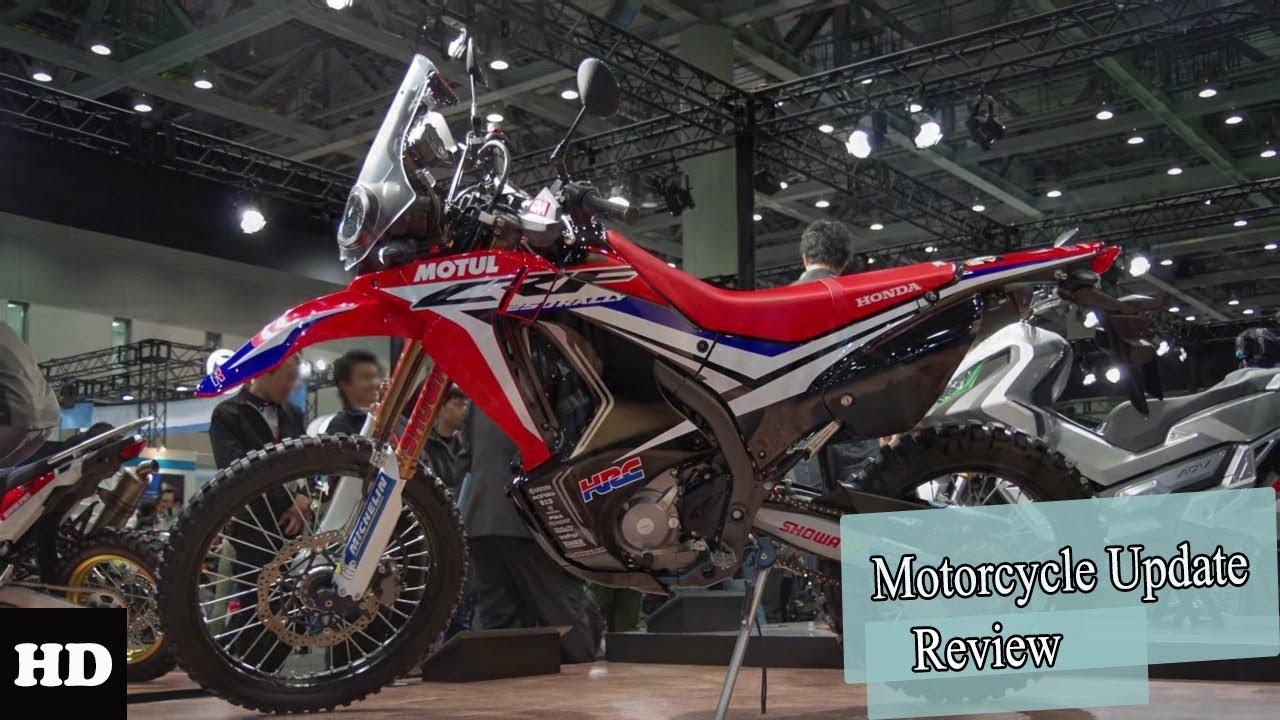 Hot News!! 2019 Honda CRF250 Rally Premium Features