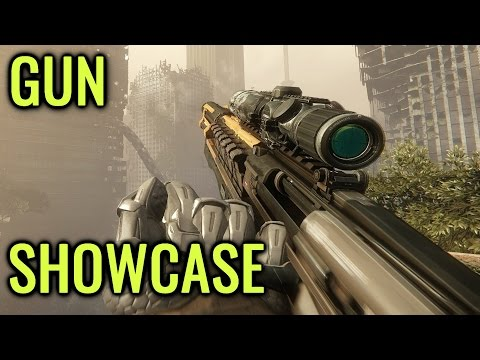 Crysis 3 - All Weapons Showcase [FULL HD 60 FPS]