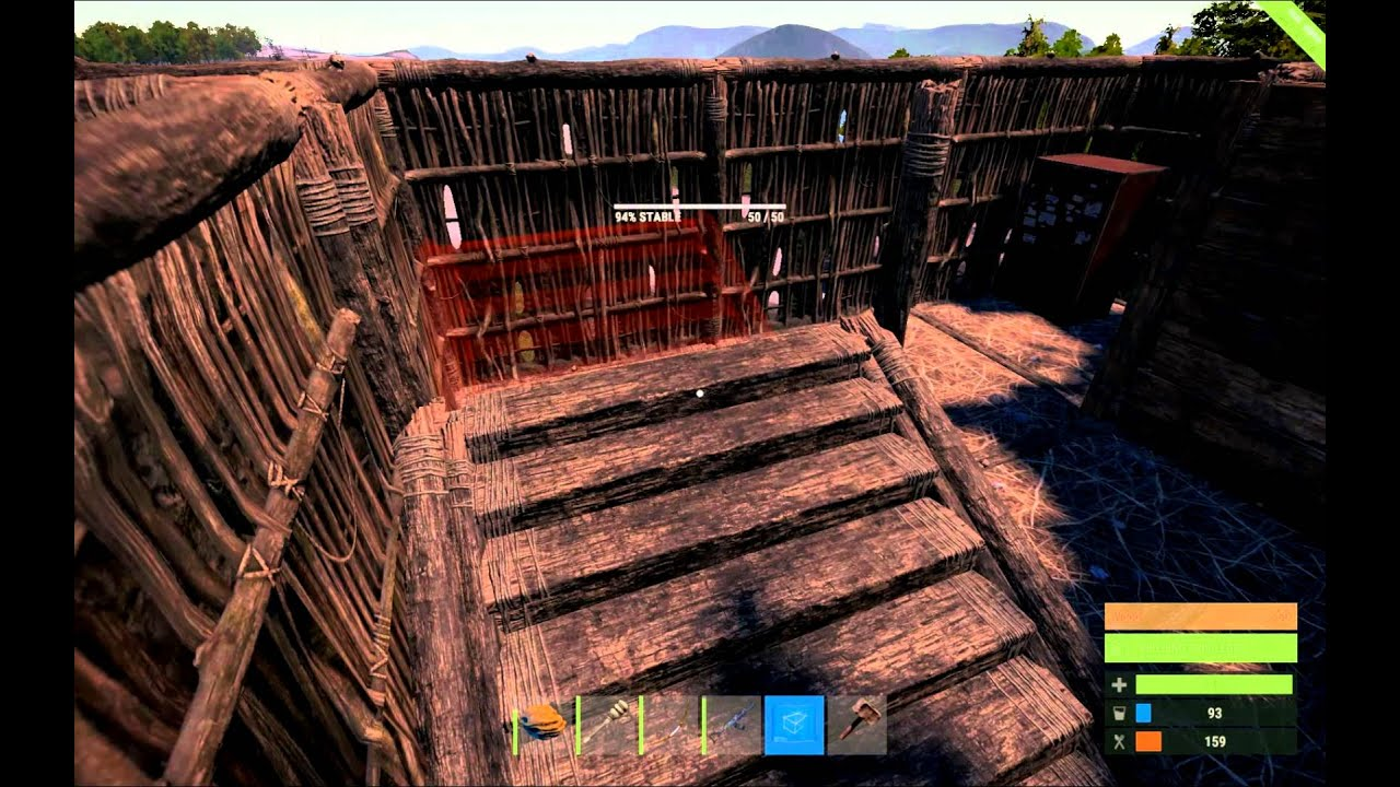 Rust Alpha 2015 3 Bauen wir das Haus Sunflex