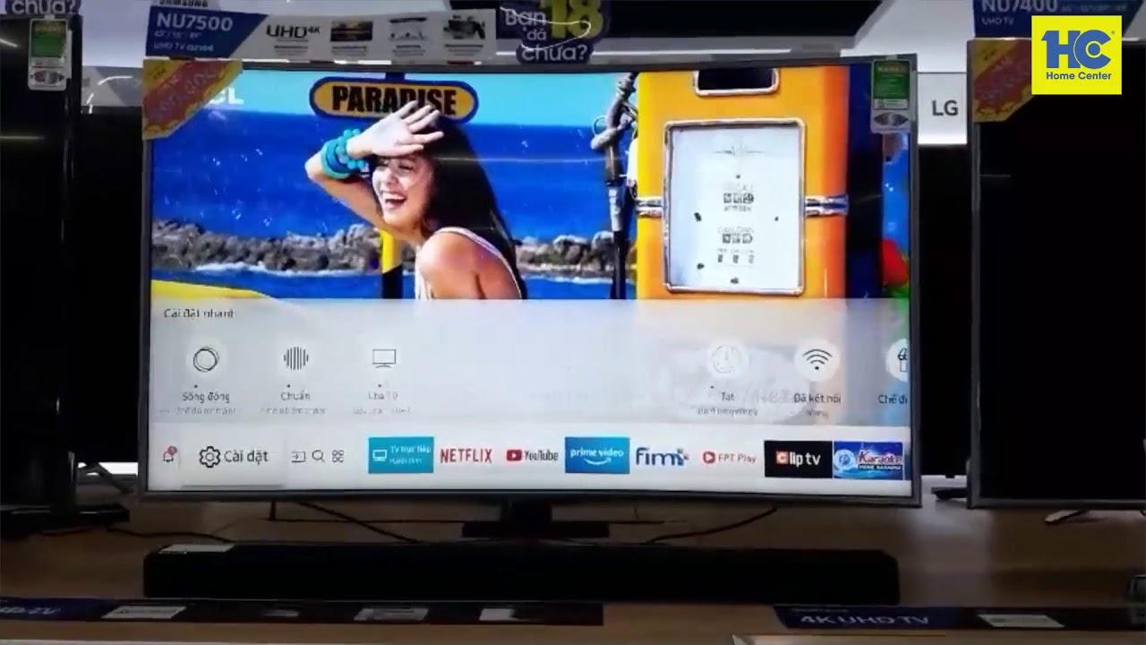Hướng dẫn kết nối Bluetooth tivi Samsung và loa Soundbar Samsung