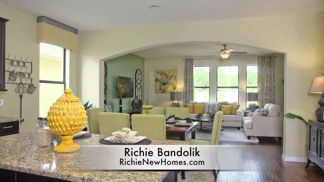 newbury ii model home beazer homes orlando new homes youtube. Black Bedroom Furniture Sets. Home Design Ideas