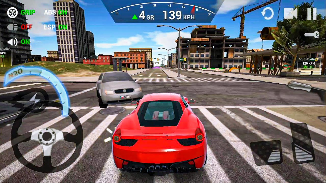 Ultimate Car Driving Simulator Ep12 - Car Games Android IOS gameplay