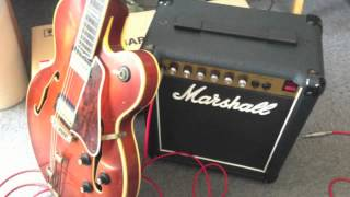 Epiphon Emperor & Marshall Reverb 12 - All along the watch tower