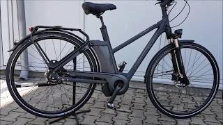 Kalkhoff Include Premium i8R ES Elektro Fahrrad/City Impulse Evo eBike  Dame Trapez 2017