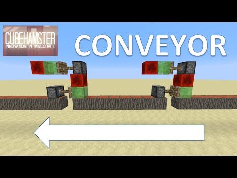 Minecraft Sharing is Caring #015: Block Chain Extender - Conveyor Extender
