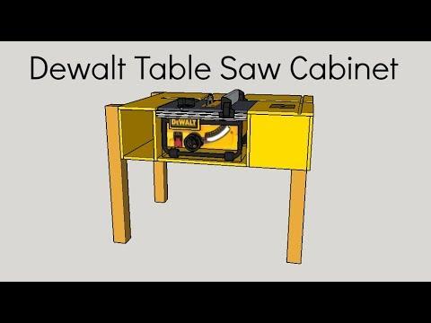 Table Saw Stand Dewalt