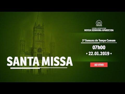Santa Missa  -  22/01/19 - 07:00 - Catedral de Montes Claros
