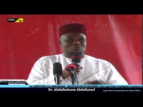 Kini iwa awon eni ire | Dr Abdul Hakeem Abdul Lateef