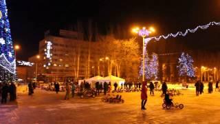 Донецк новогодний