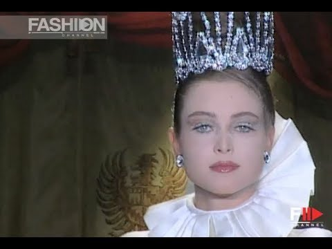FURSTENBERG Fall Winter 1997 1998 Haute Couture Rome - Fashion Channel