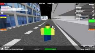Roblox Chevy Stuck in a Parking Deck Wall