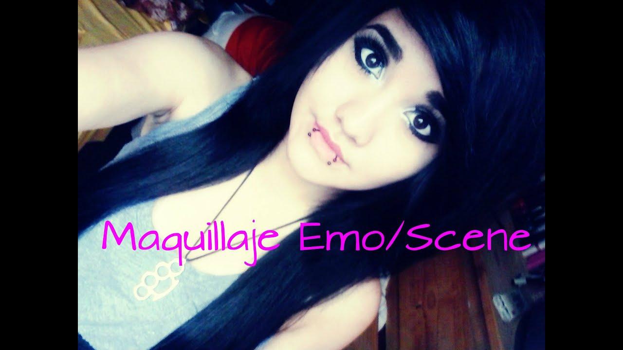 Maquillaje Emo/Scene Tutorial ♥ Emo/Scene Makeup