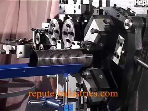 Rolling Shutter Spring Coiling Machine Rdsm 20 Youtube