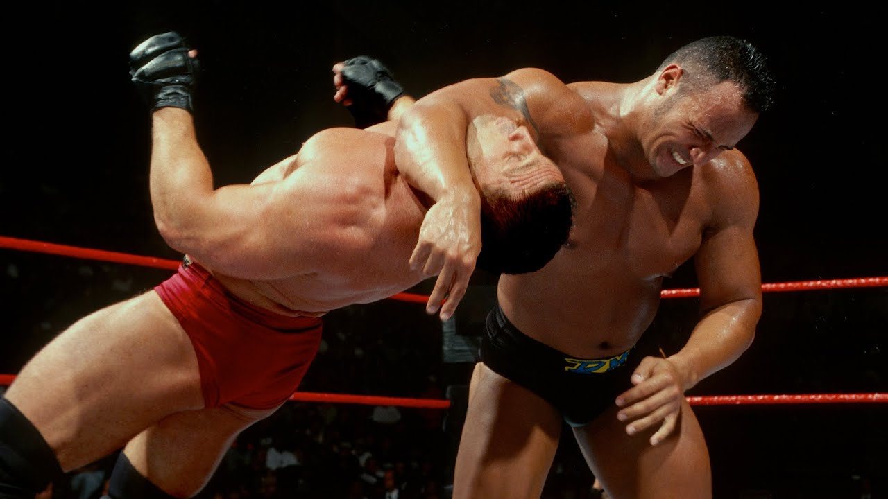 Ken Shamrock vs. The Rock — King of the Ring Final: King of the Ring 1998 - YouTube