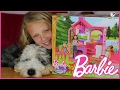 BARBIE Camping Fun Cabin in the Woods Playset Toy Unboxing
