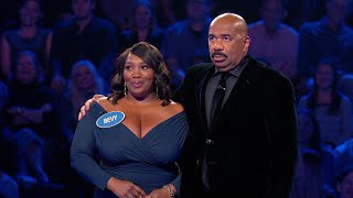 Andy Cohen and Bevy Smith Play Fast Money - Celebrity Family Feud