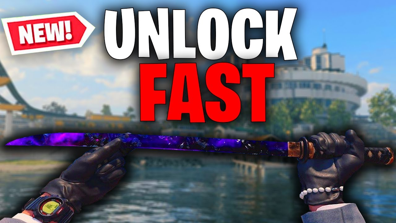 How To Unlock The Wakizashi Sword Fast In Cold War (Tips & Tricks)