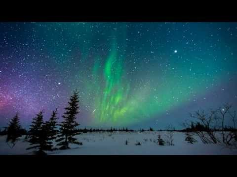 2013 03 10 Churchill Manitoba Aurora Borealis Time Lapse [HD]